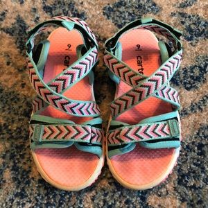 Carter's Sandals Girls Size 9
